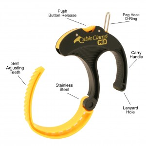 Cable Clamp PRO with Features
