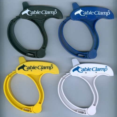 4 Large Cable Clamps