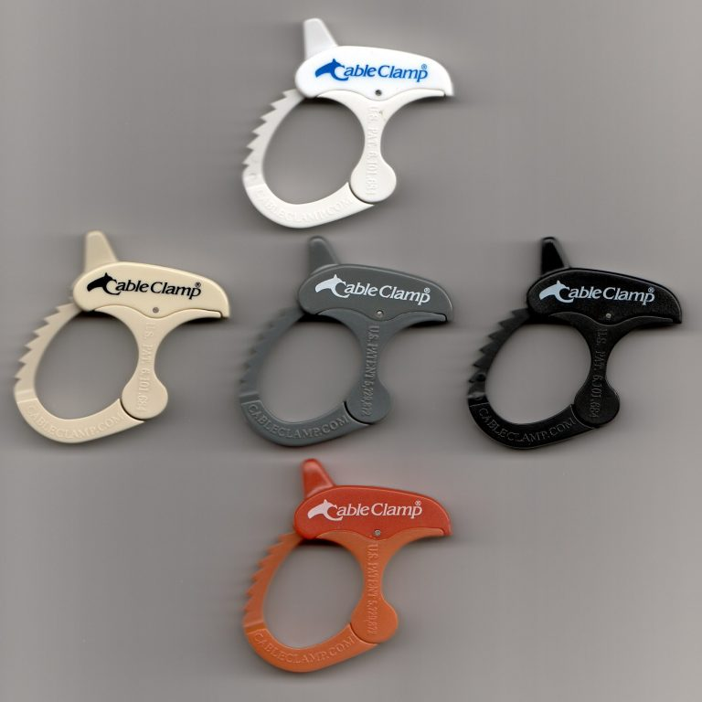 Small Cable Clamps.Various Colors